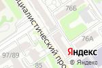 Схема проезда до компании Для всех в Барнауле