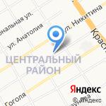 Упряжь на карте Барнаула