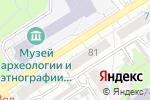 Схема проезда до компании Ж Баже в Барнауле