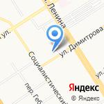 Лексис на карте Барнаула