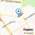 Капитал на карте Барнаула