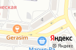 Схема проезда до компании Спринт в Барнауле