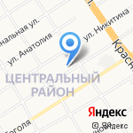 Компания по приему металлолома на карте Барнаула