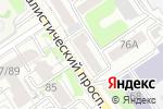 Схема проезда до компании Bien-etre в Барнауле