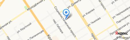 Центр имиджевых технологий на карте Барнаула