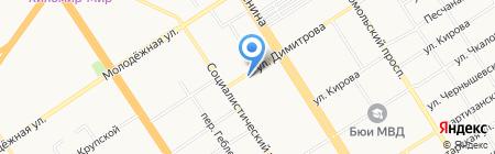 Интерьер-Картина на карте Барнаула
