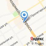 ДНС на карте Барнаула