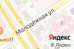 Схема проезда до компании GERRY WEBER в Барнауле