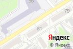 Схема проезда до компании Apple Goods в Барнауле