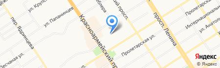 Детский сад №226 на карте Барнаула