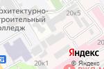 Схема проезда до компании Фитнес Данс Центр в Барнауле