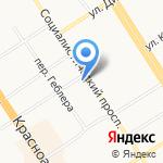 Red Star на карте Барнаула