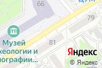 Схема проезда до компании Самсон в Барнауле
