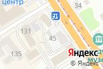 Схема проезда до компании Центр плюс в Барнауле