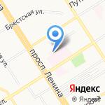 Фитнес Данс Центр на карте Барнаула