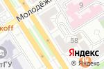 Схема проезда до компании Винотека в Барнауле