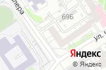 Схема проезда до компании ПАРИТЕТ в Барнауле