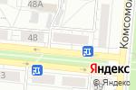 Схема проезда до компании Отдел судебных приставов Октябрьского района в Барнауле