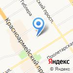 Центр развития ребенка-детский сад №226 на карте Барнаула
