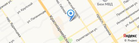 А-Тур на карте Барнаула