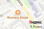 Схема проезда до компании Клевер в Барнауле