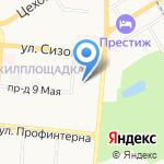 УФСИН России по Алтайскому краю на карте Барнаула