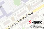 Схема проезда до компании Нотариус Налимова Л.П. в Барнауле