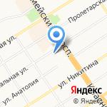 Отдел полиции №5 Управления МВД России по г. Барнаулу на карте Барнаула