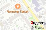 Схема проезда до компании Каникула в Барнауле