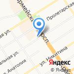 Открытие Финансовые Решения на карте Барнаула