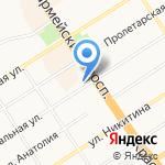 Алтайэнергосбыт на карте Барнаула