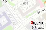 Схема проезда до компании Евромедика Косметик в Барнауле