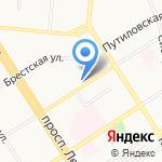 Нотариус Налимова Л.П. на карте Барнаула