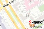 Схема проезда до компании Иллюзоroom в Барнауле