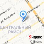 ГазЛес на карте Барнаула
