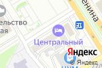 Схема проезда до компании Центральный в Барнауле