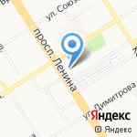 МИАРД-недвижимость на карте Барнаула