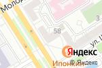 Схема проезда до компании Западное в Барнауле
