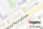 Схема проезда до компании Гарант в Барнауле