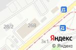 Схема проезда до компании Албис в Барнауле