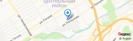 Тереза на карте Барнаула