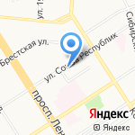 ВАГОН на карте Барнаула