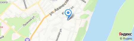 Церковь Царство Божье на карте Барнаула