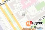 Схема проезда до компании Lee & Wrangler в Барнауле