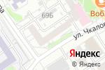 Схема проезда до компании АМ ДИСКОНТ-ТУР в Барнауле
