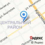 Сырный двор на карте Барнаула
