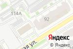 Схема проезда до компании Центр стоматологического здоровья в Барнауле