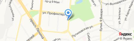 Автоматика на карте Барнаула