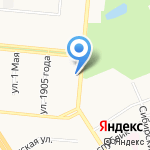 Орлеан на карте Барнаула