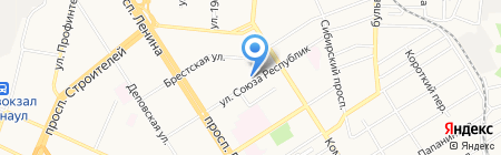 ARGANLINE CLINIC Lamerel на карте Барнаула